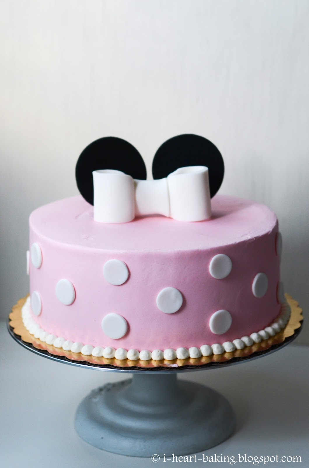 Minnie Mouse And Mickey Mouse Birthday Cakes