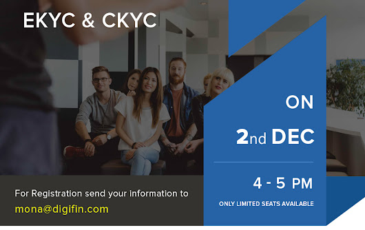 Digifin :-Free Webmianr for C-kyc and E-kyc