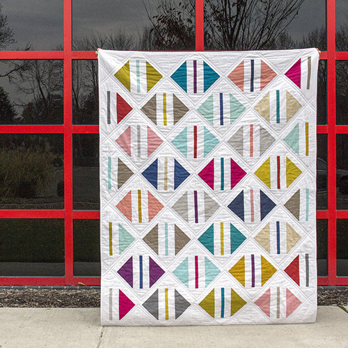 Parcel Quilt designed by Michelle Engel Benckso of Cloud9Fabrics