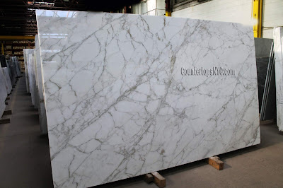 Calacatta Gold Slabs White Marble NYC
