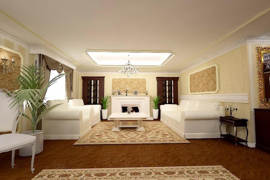 Nobili Design | Design interior living vila clasica Galati - Amenajari interioare case Galati.