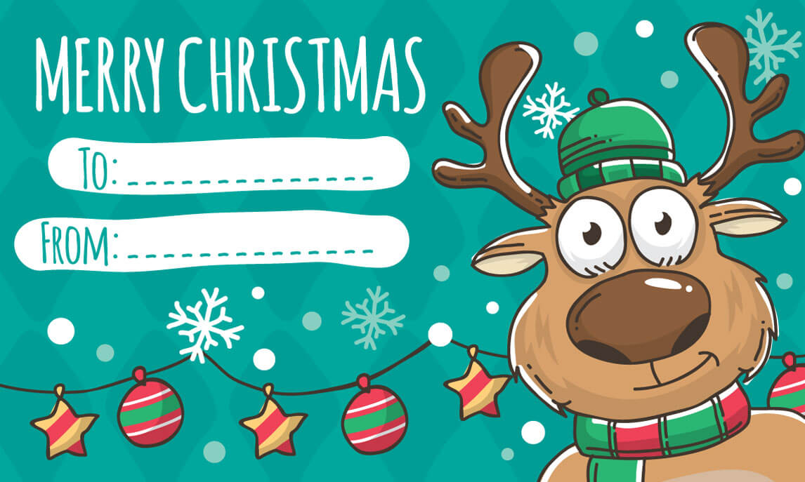 christmas cards for printing download free