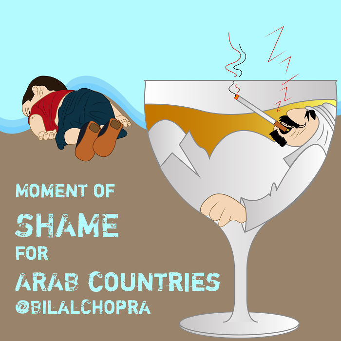 Artists Around The World Respond To Tragic Death Of 3-Year-Old Syrian Refugee - Moment Of Shame For Arab Countries: Bilal Chopra
