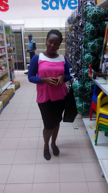 Esther Adeniyi at Shoprite Ogun State