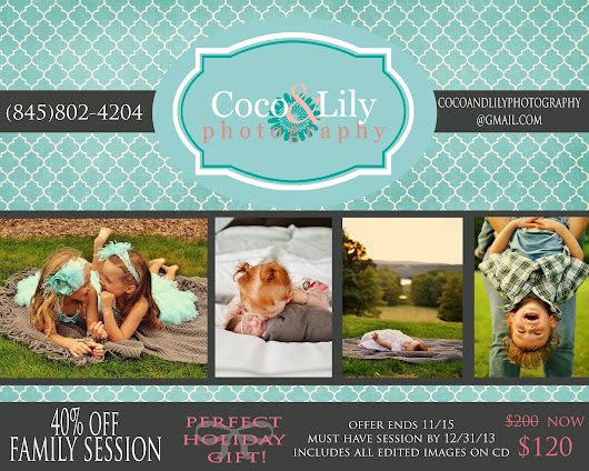 40% off Family Session!