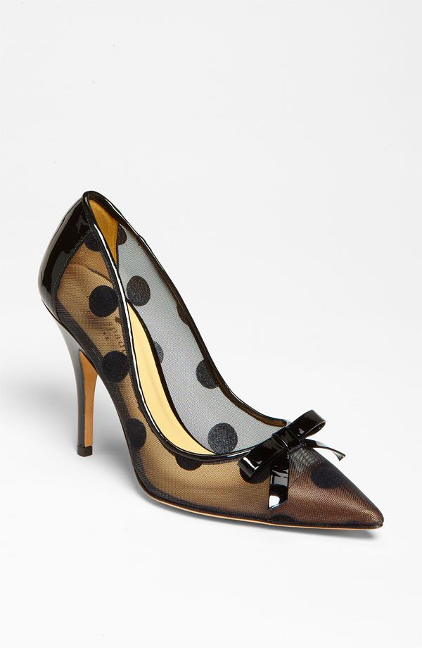KATE SPADE...shoes, so feminine