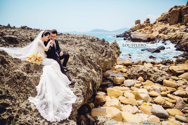 Mới lạ với bộ ảnh cưới dưới nước