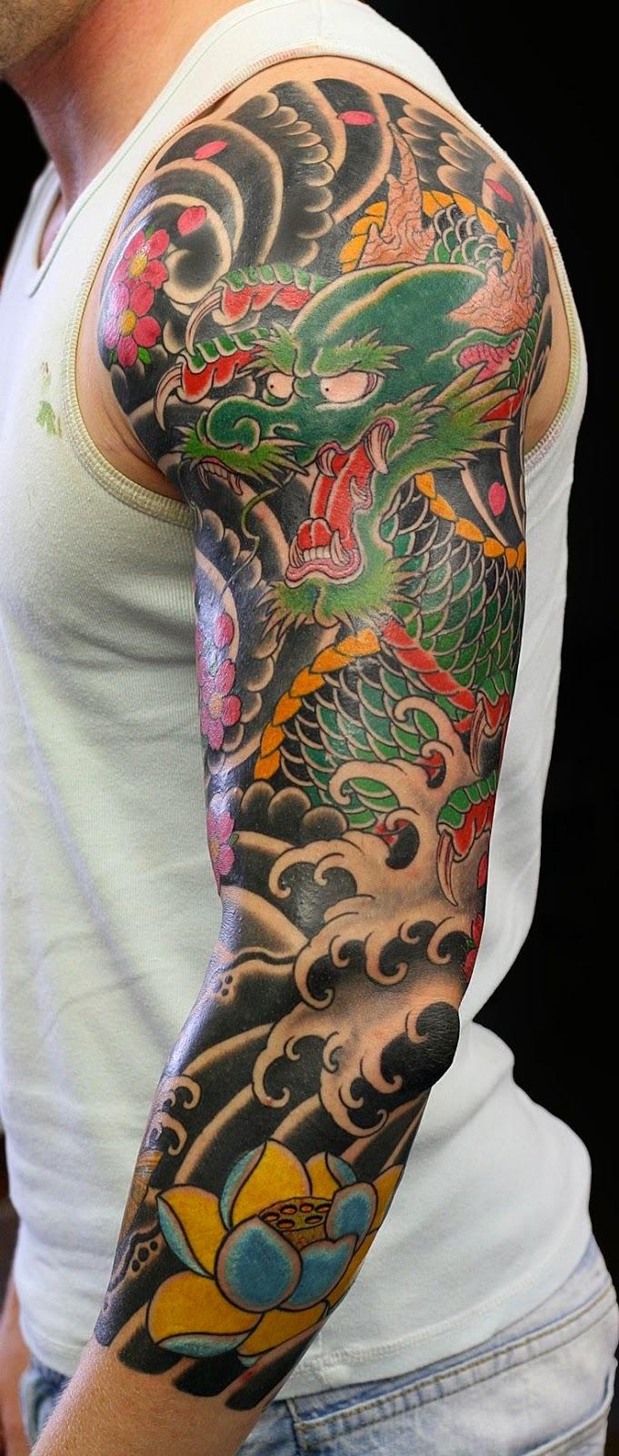 Tatuajes De Dragones Y Mejores Partes Para Tatuartelos Belagoria