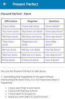 English Grammar Practice Test Screenshot