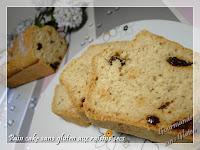 pain cake aux raisins sans gluten pour petit déjeuner