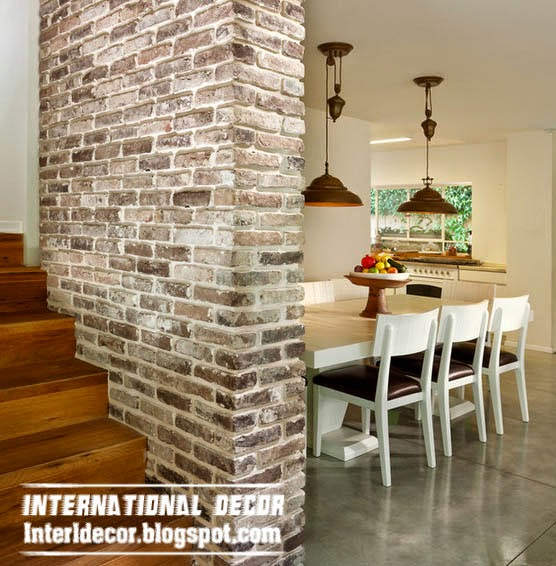 Top 10 Brick wall designs for interior - Brick walls