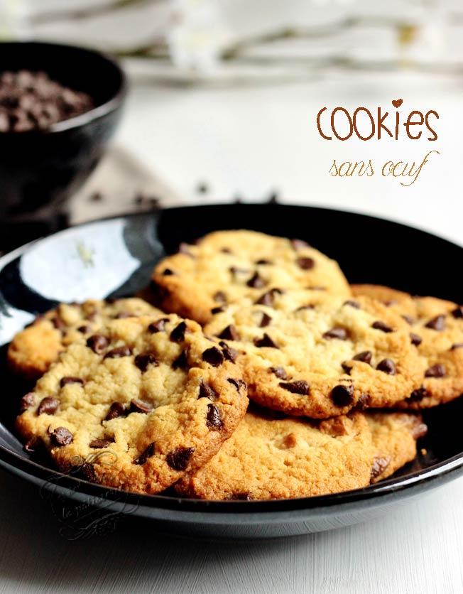 recette de cookies sans oeufs