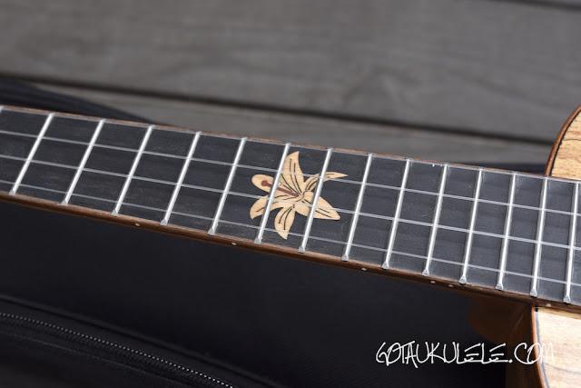 Snail BH-1C Ukulele fingerboard