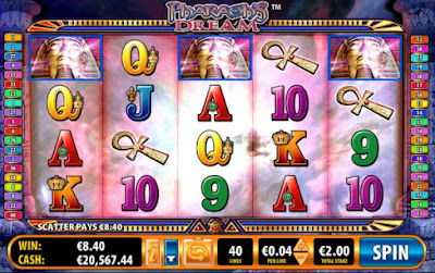 play pharaoh's dream slot game for free