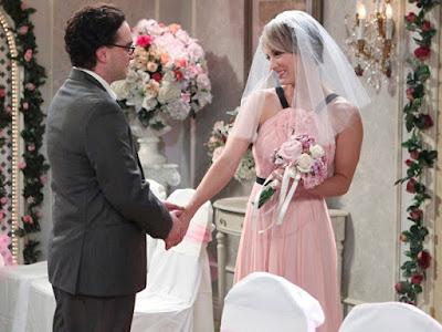 The big bang theory. Wedding