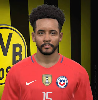 PES 2017 Faces Jean Beausejour by FaceEditor Jefferson_SF