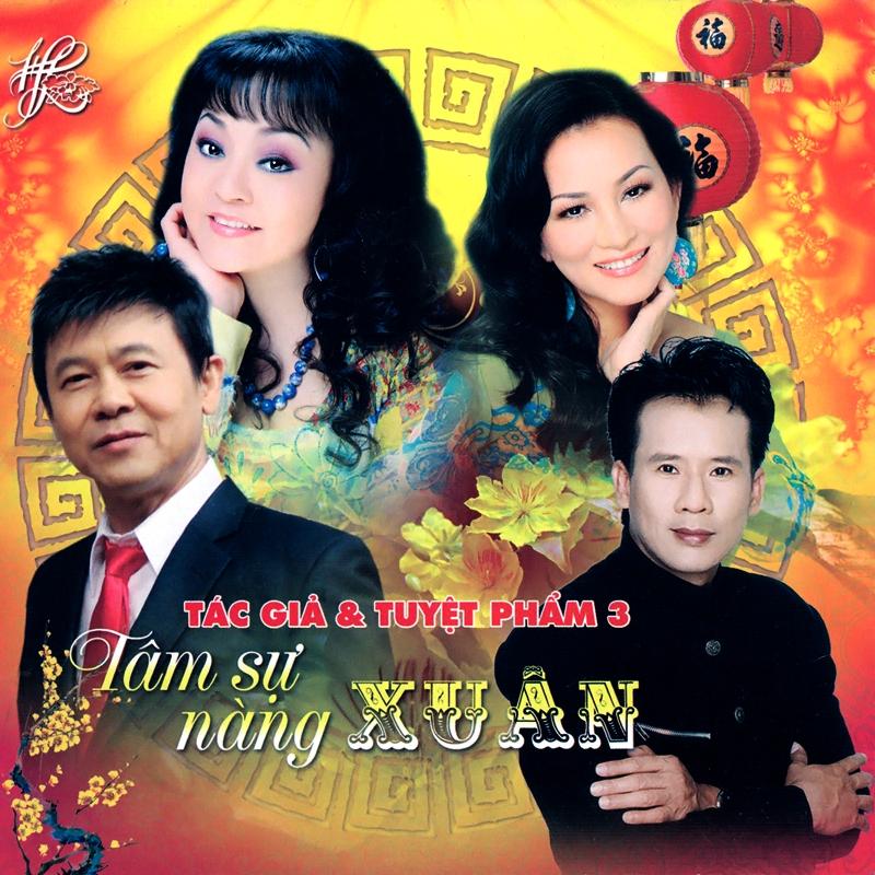 Hương Lan CD - Tâm Sự Nàng Xuân (NRG) + bìa scan mới