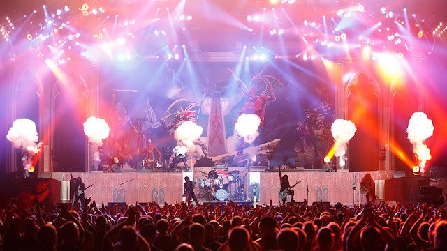 Após ingressos esgotados, Iron Maiden confirma terceiro show na Cidade do México
