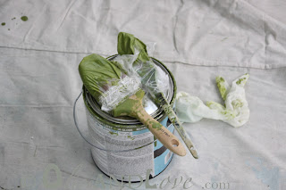 Martha Stewart Okra gloss paint green