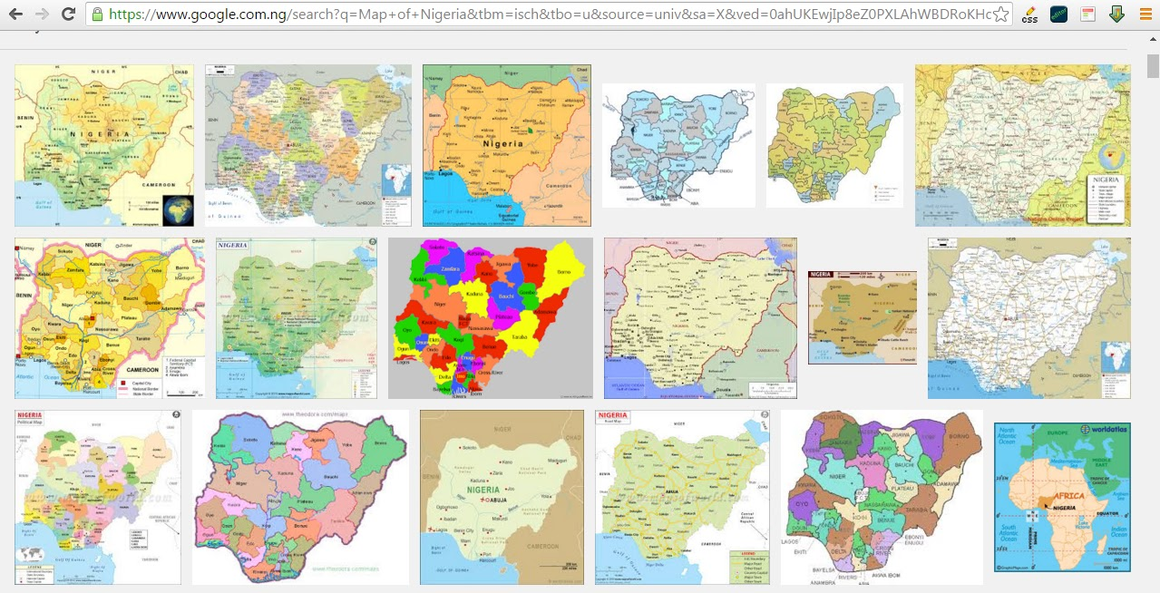 Geospatial solutions expert map of nigeria in shapefile format for free when you search online for a map of nigeria the commonest results that shows up are imagespictures of map of nigeria as a gis professional you would love gumiabroncs Gallery