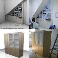 Contoh Desain Rak Arsip (Rak File) Dokumen Kantor - Furniture Semarang