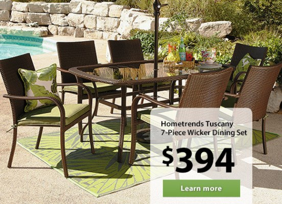 Outdoor patio furniture sale walmart furniture design for Outdoor patio furniture sets walmart