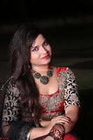 Sirisha Dasari in Red Ghagra Backless Choli ~  042.JPG