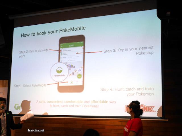 Book your PokeMobile