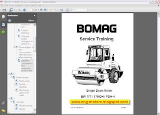 Bomag workshop manual