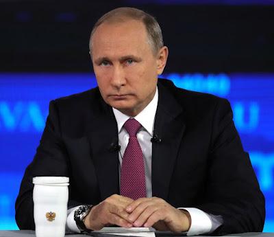 Russian President Vladimir Putin Direct Line 2017.