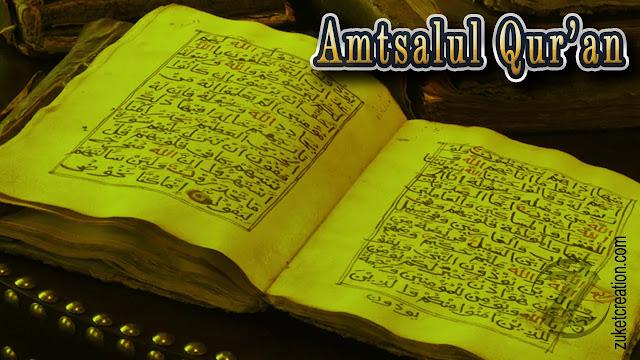 Makalah Amtsalul Qur'an