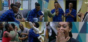 #BBNaija: DonJazzy visits Big Brother house with his new signees (Photos/Video)