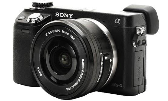 Gambar Kamera Mirrorless Sony NEX-5N