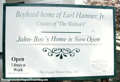 Boyhood Home of Earl Hamner Jr. Creator of The Waltons