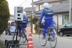 小型で持ち運びできる速度違反自動取り締まり装置(オービス)