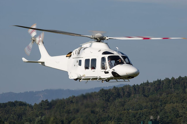Leonardo AW169M helicopters Guardia Finanza