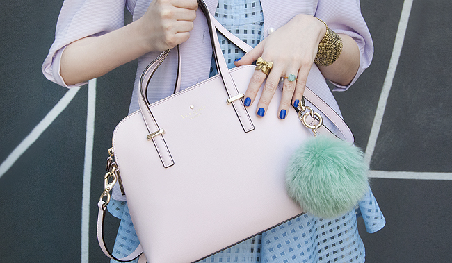 Kate Spade, pale pink Maise, handbag