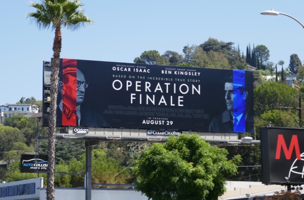 Operation Finale film billboard