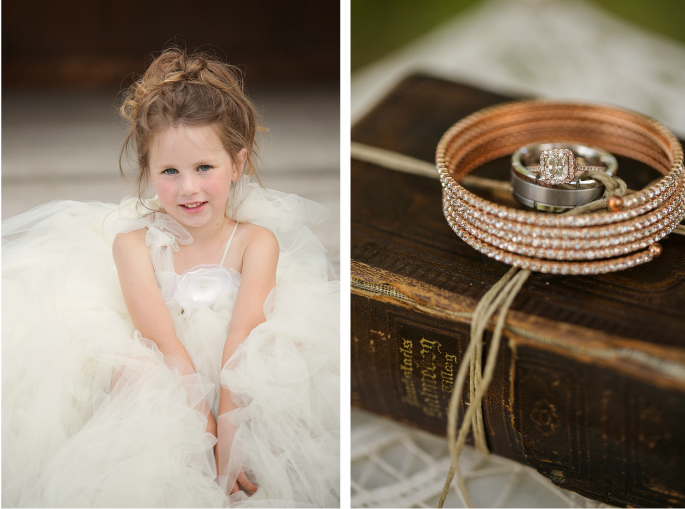 Flower Girl / Photography: Tracy Moore Photography