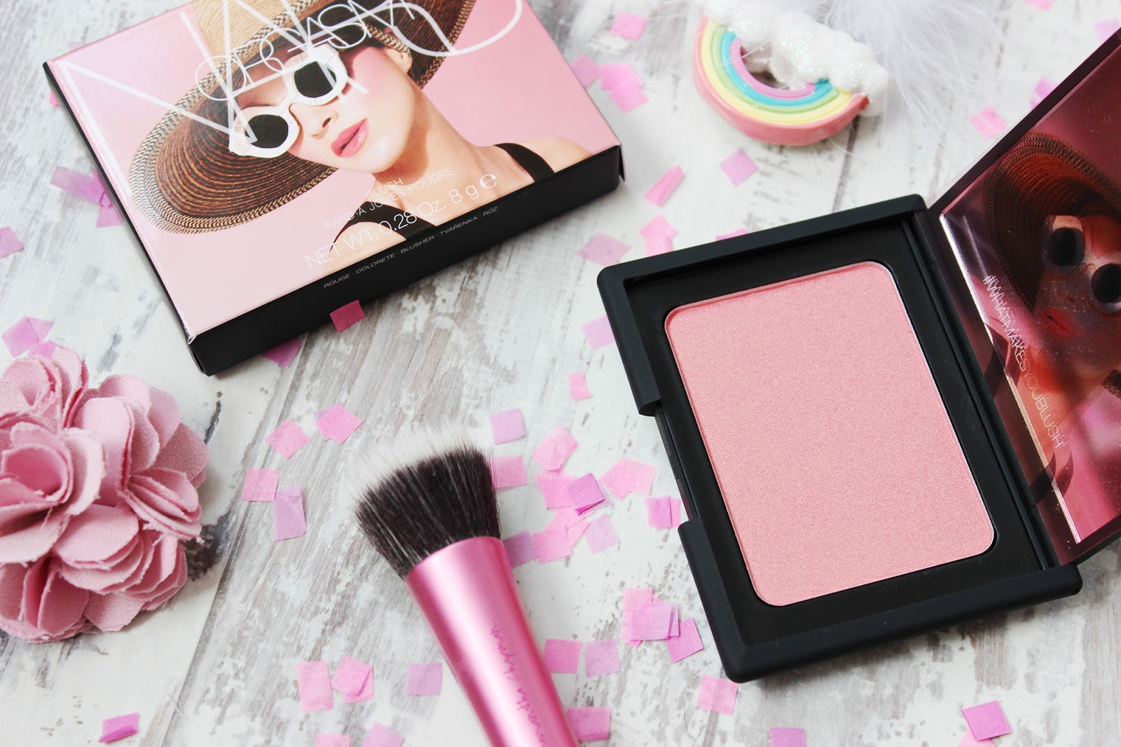 NARS super sized Orgasm blusher review