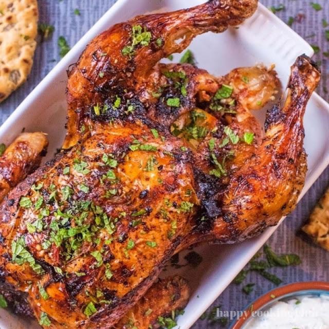 Harissa Roasted Chicken