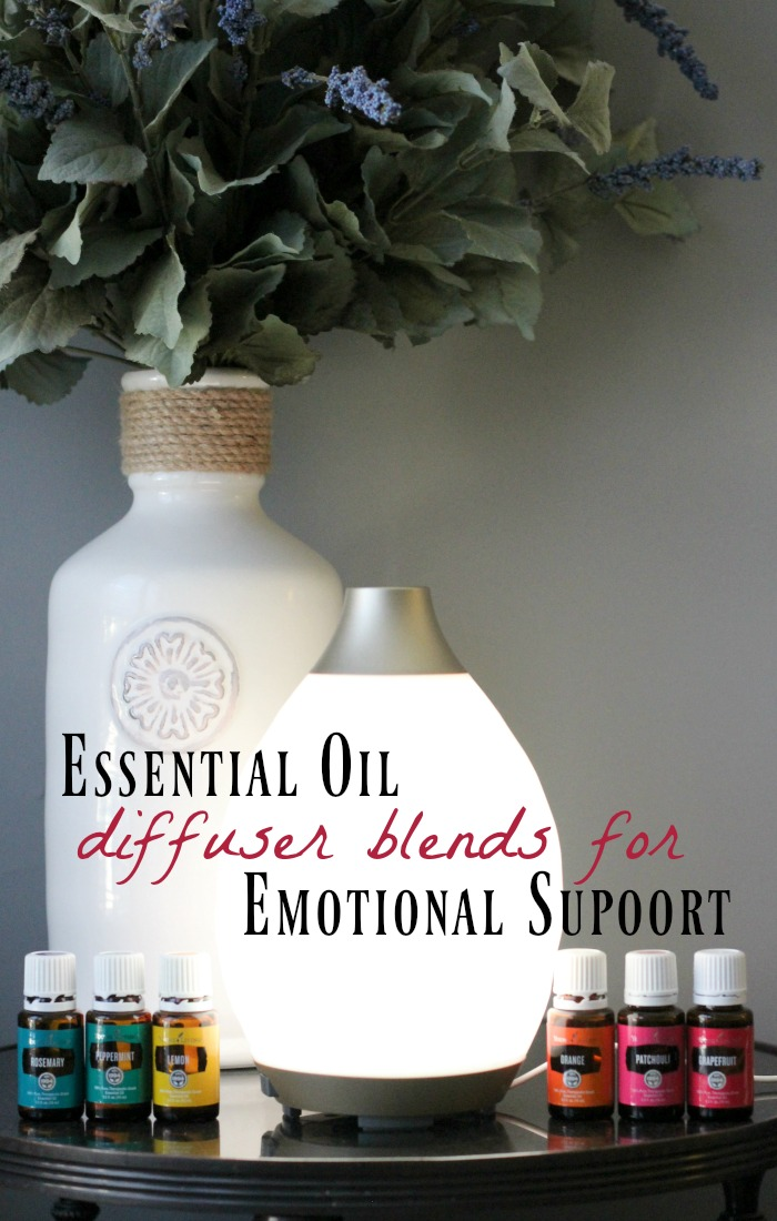 Use these essential oils to support challenging emotions to get you through a hard time