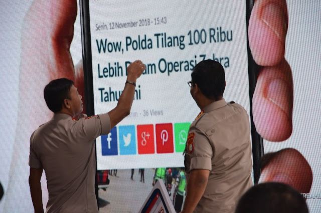 Polda Metro Jaya Luncurkan Portal Berita PMJNews.com Untuk Menangkal Berita Hoax