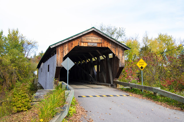 Cambridge junction bridge-Montgomery covered bridge road