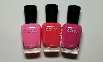 Zoya Summer 2014 Tickled Collection (Part 1)
