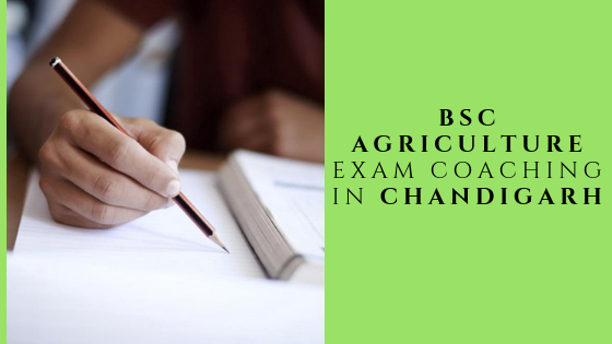 Bsc Agriculture Exam Coaching In Chandigarh