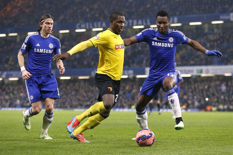 Ighalo: I want Mikel to join me at Watford