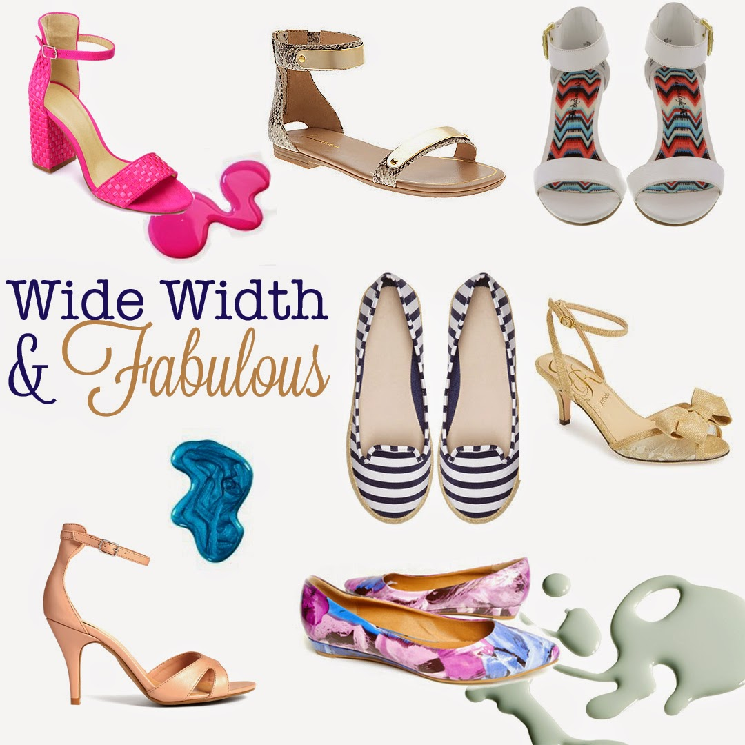 Wide Width Shoes, Large Size Shoes,