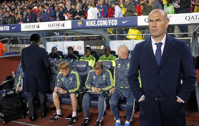 El Clásico tranquiliza a adidas con Zidane