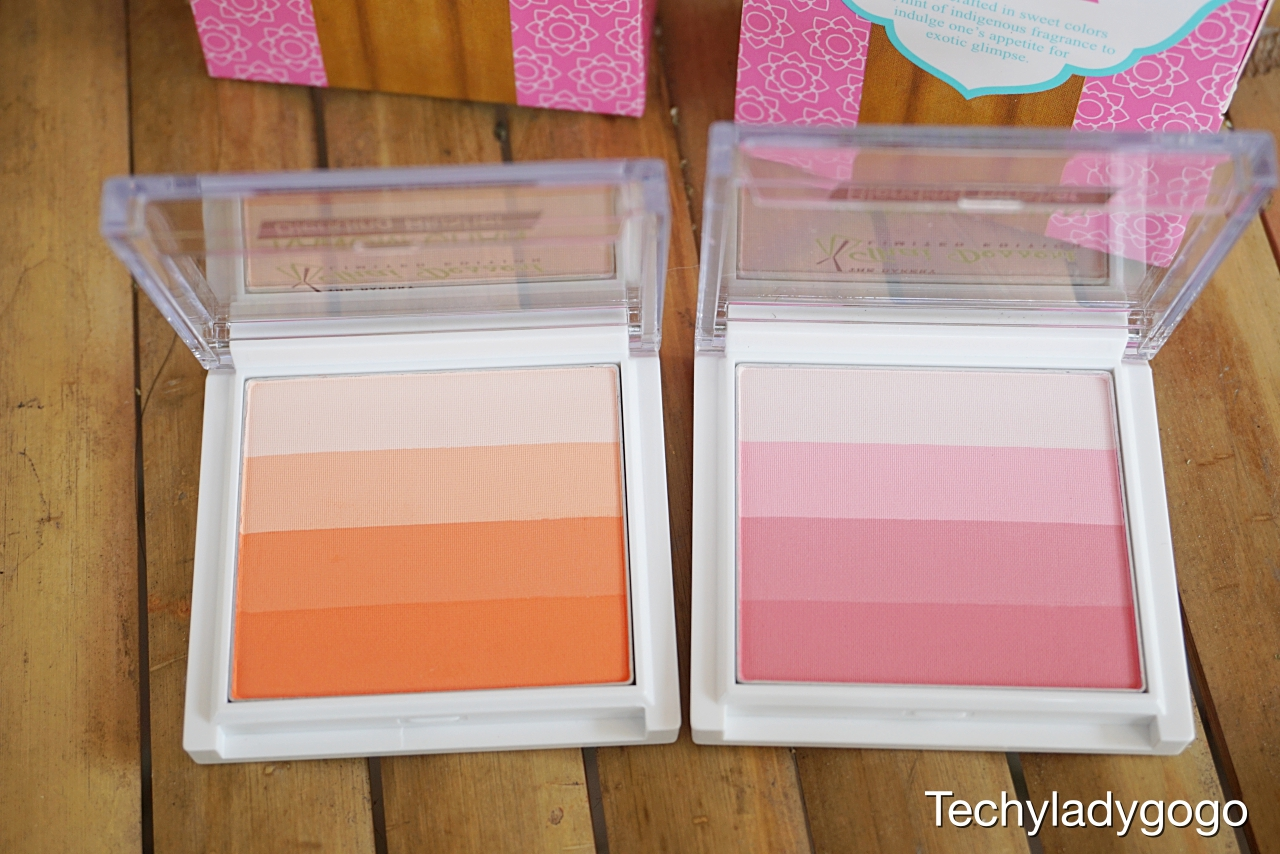 kanom chan blending blusher บลัชขนมชั้น beauty buffer the bakery